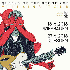 Queens Of The Stone Age - Villains Tour 2018